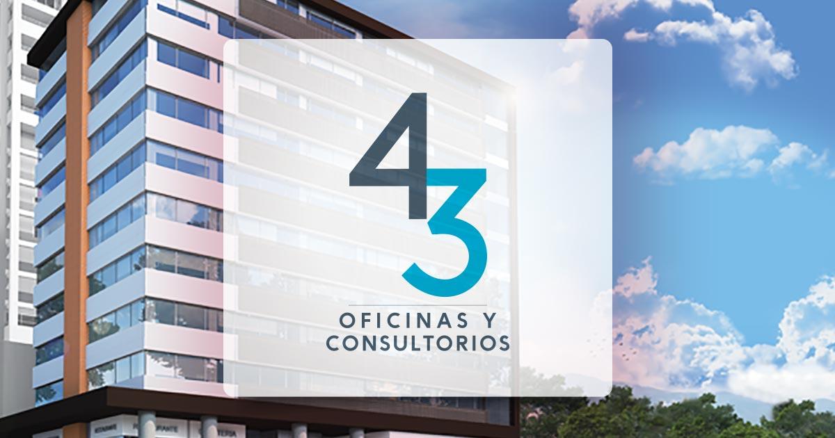 contacto del proyecto 43 Oficinas y consultorios Sabaneta