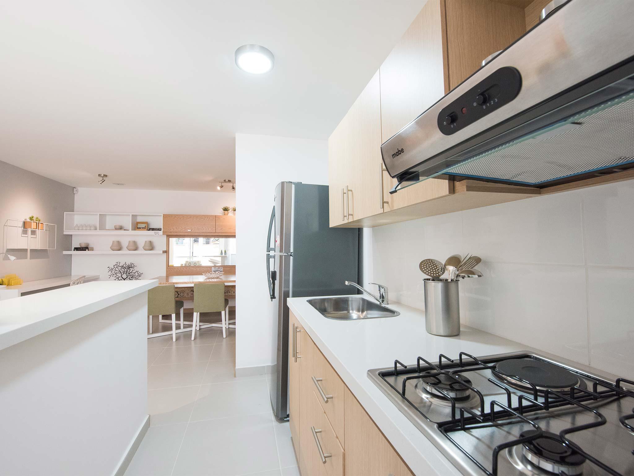 Fotos del proyecto olivo bienes bienes constructores for Apartamento modelo
