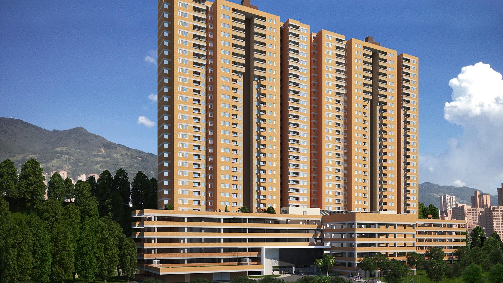 Apartamentos proyecto Reserva del Bosque