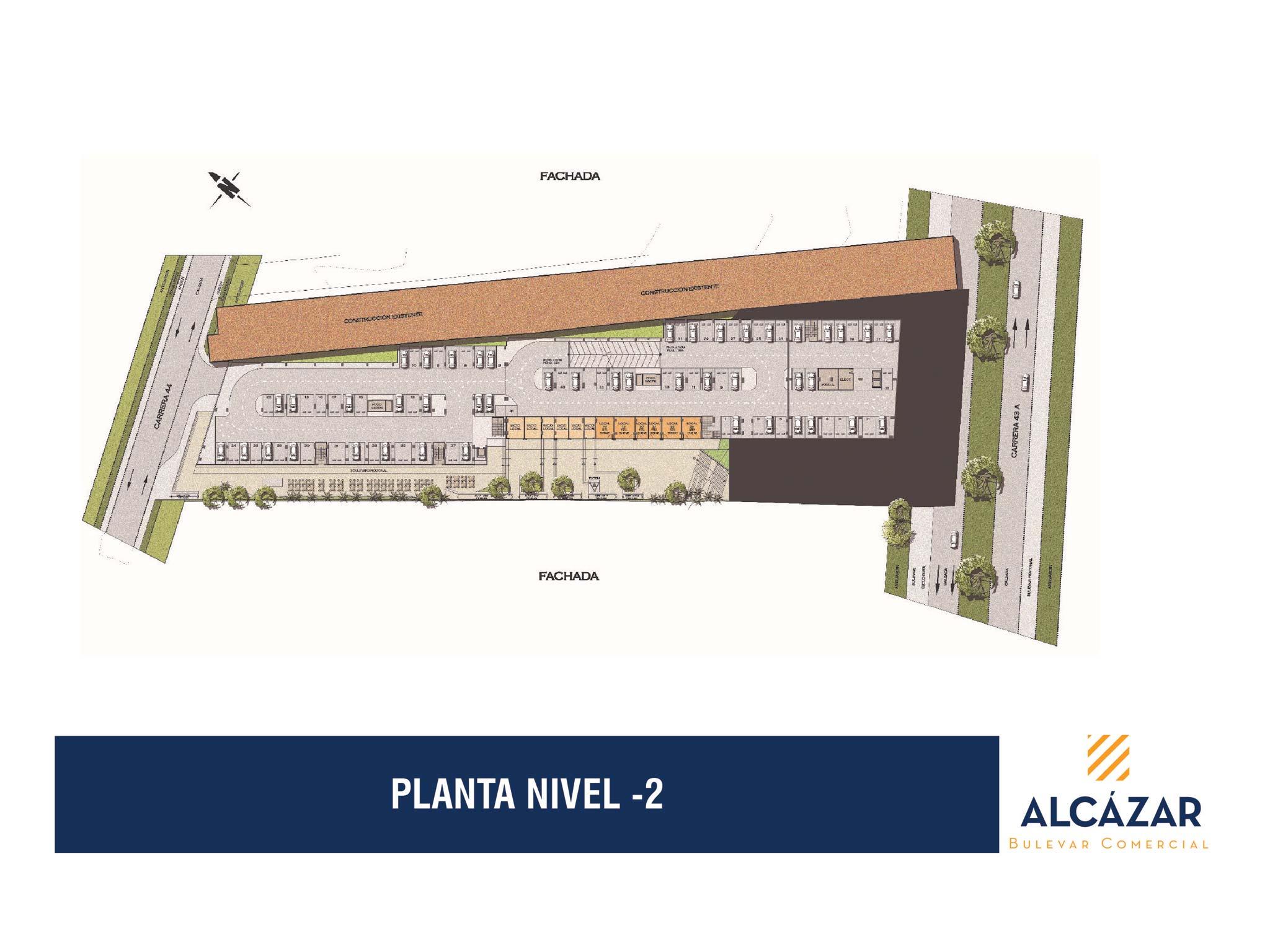 PLANTAS BULEVAR DEL ALCÁZAR