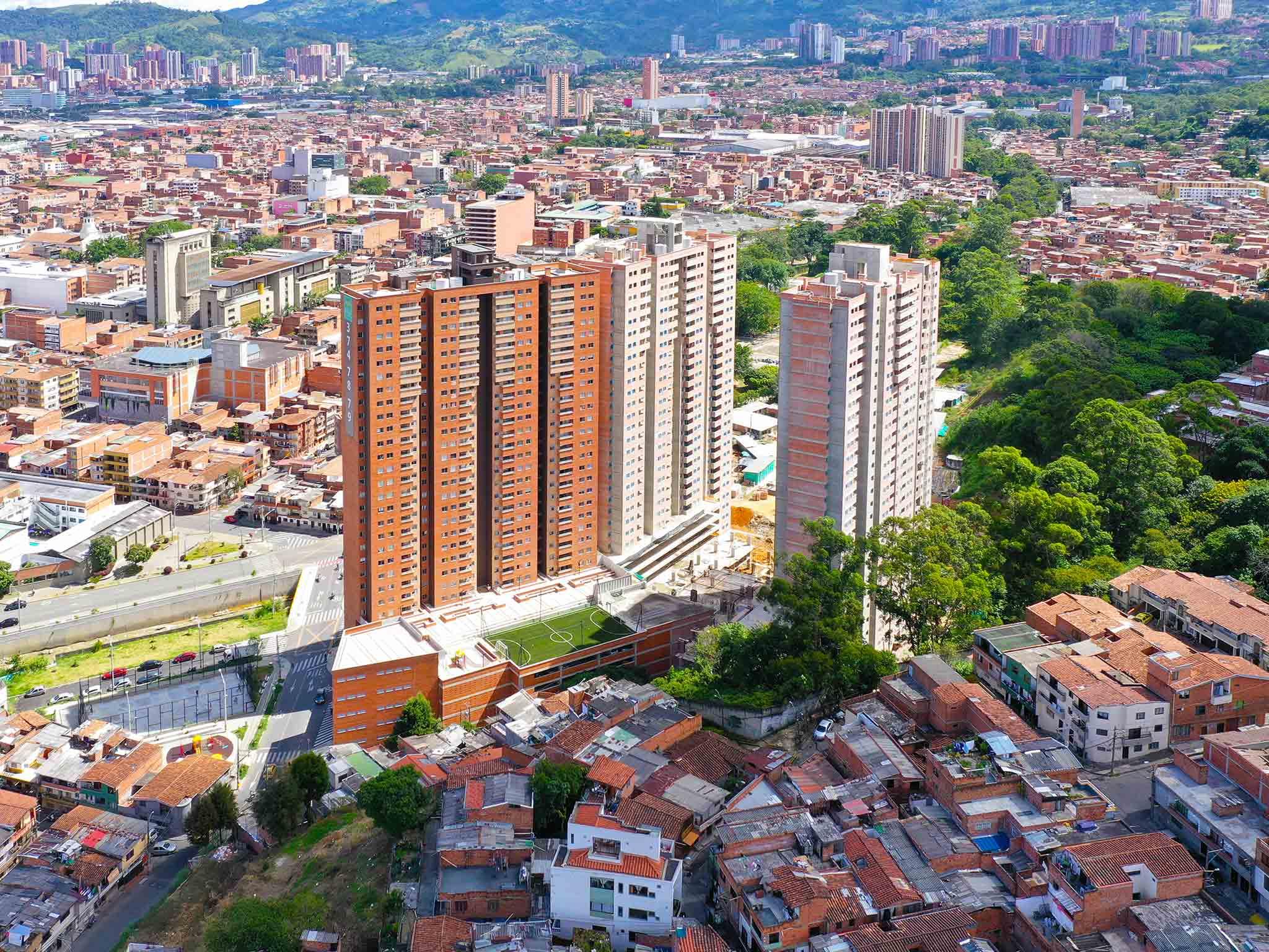 AVANCE DE OBRA RESERVA DEL BOSQUE