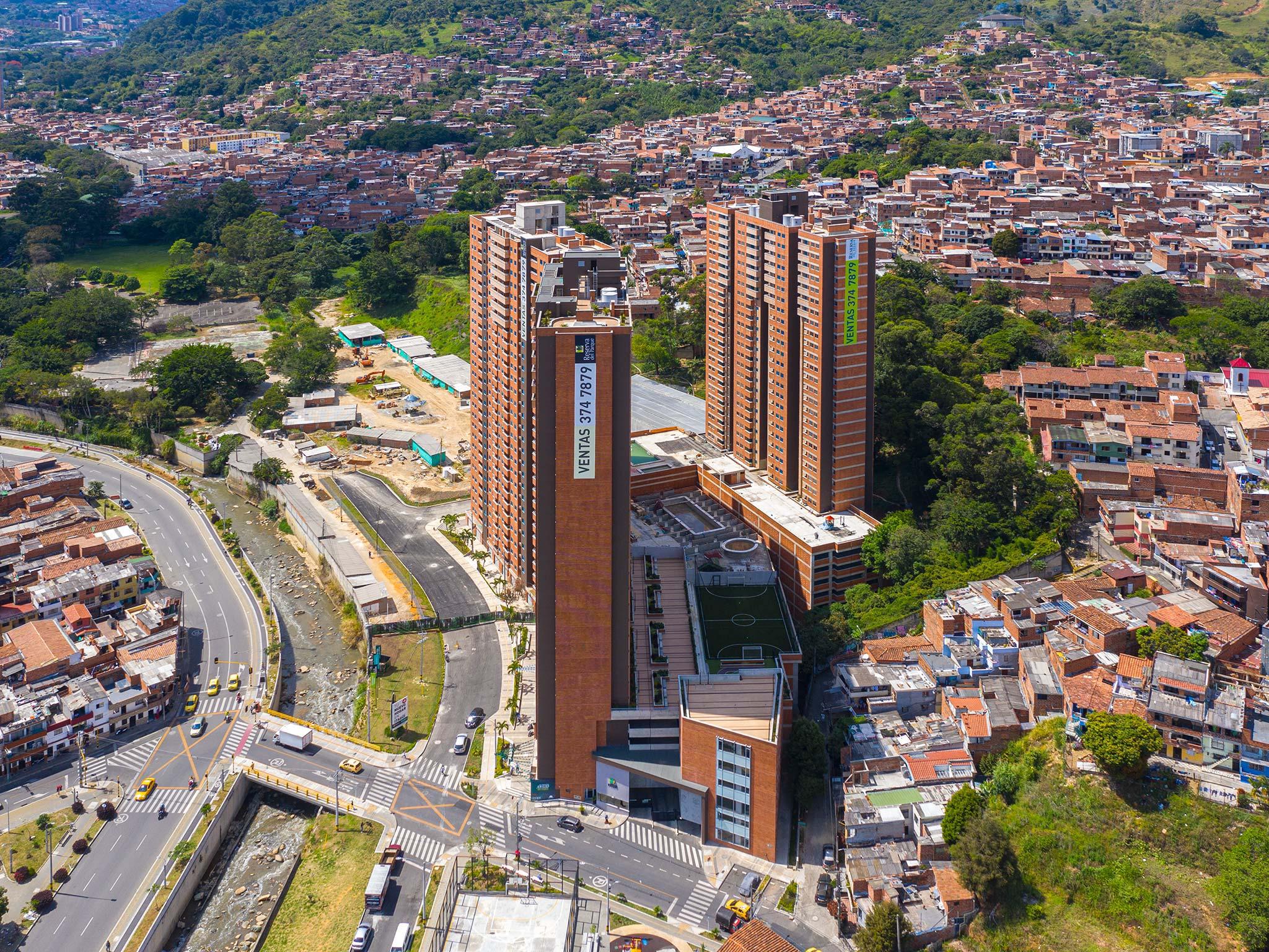 FOTOS AVANCE DE OBRA RESERVA DEL PARQUE